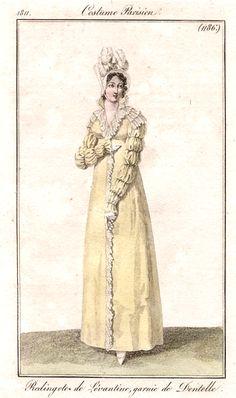 A most elegant pelisse, Costume parisien 1811