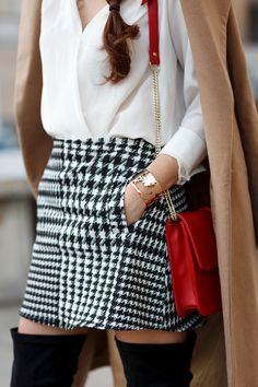 Stylish Larisa Costea wearing our stunning World Cuff