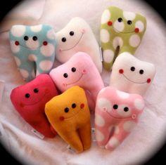 Custom 6 Fleecy Tooth Fairy Pillow Friend with name by Hannalah, $15.00
