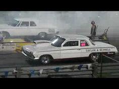 1962 BelAir Drag Car 409 - YouTube