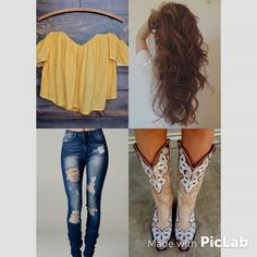 Cute country girl concert outfit!