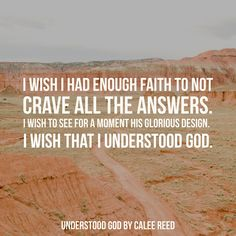 Understood God by Calee Reed