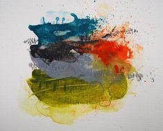 Untitled Mini Abstract by TheresaBenavidezArt on Etsy