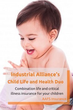 Child Life and Health Duo is an innovative combination insurance from Industrial Alliance, covering both life and critical illness insurance.