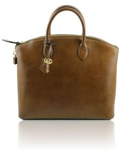 TL BAG TL141262 Leather tote - Large size
