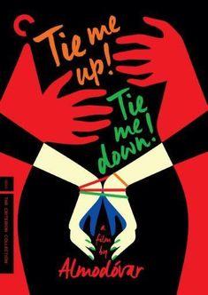 Tie Me Up Tie Me Down Movie poster Metal Sign Wall Art 8in x 12in