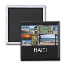 Labadee, Haiti square magnet ($3.95) ❤ liked on Polyvore featuring home, home decor, office accessories and square magnets