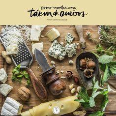 Reunimos dicas de como montar uma tábua de queijos com sabores complementares e de forma organizada e delicada para seus convidados.