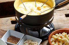 Cheese Fondue Recipes For Kids - Classic Swiss Cheese Fondue