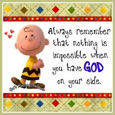 #God IS always on your side!