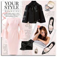 Pure Class by petri5 on Polyvore featuring moda, Roksanda Ilincic, Alexander McQueen, Miu Miu, Victoria Beckham, Allurez, Dolce&Gabbana, Pussycat and Christian Dior