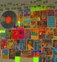 Indie Bedroom, Indie Room Decor, Cute Room Decor, Retro Room, Vintage Room, Ideas Decorar Habitacion, Chambre Indie, Photographie Indie, Shotting Photo