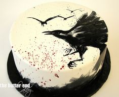 Raven cake - The Butter End Cakery. Coolest cake I've ever seen.