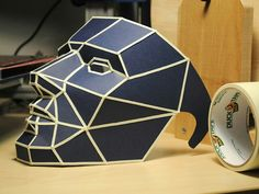 Polygonal face mask