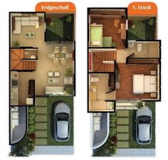 modern home design accessories Modern House Plans, Small House Plans, House Floor Plans, Home Design Plans, Plan Design, Small House Design, Modern House Design, The Plan, How To Plan