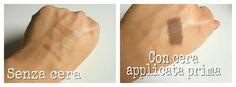 Differenza applicazione ombretti sopracciglia con o senza cera fissante Kit kiko #eyebrows #sopracciglia #makeup #makeupaddict