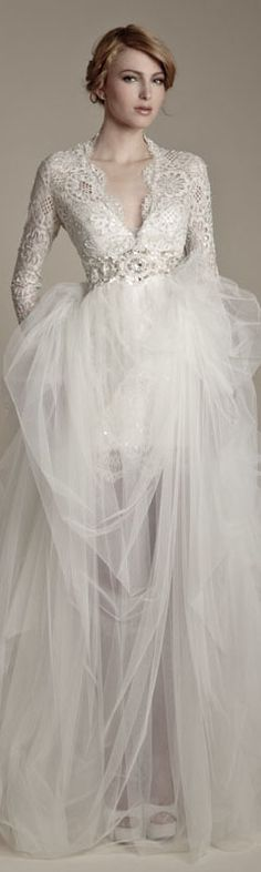 Ersa Atelier 2013 vestido seuqinho em baixo e saia de tule, lindo