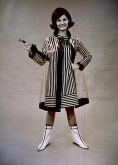 Vintage 1960s Raincoat Gray Vinyl Large Mens Womens By