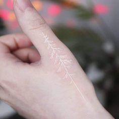 White Ink Tattoos Healed, Small White Tattoos, Black Ink Tattoos, Party Tattoos, Time Tattoos, Glow Tattoo, Tattoo Art, Tattoos For Daughters, Daughter Tattoos