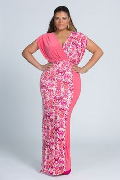 Qristyl Frazier Designs Plus Size Delight Maxi Dress :: www.qristylfrazierdesigns.com