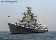 Indian navy destroyer