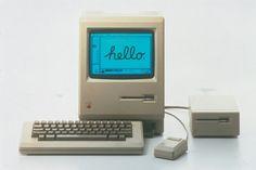 "Vintage Tech Archive - Google+ - Apple Macintosh Computer- The Apple Macintosh ""128k"" is…"