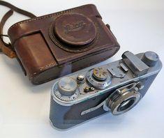Primeira Leica de Henri Cartier-Bresson (Foto: Wikipédia). Veja mais em http://www.jornaldafotografia.com.br/noticias/parabens-para-leica
