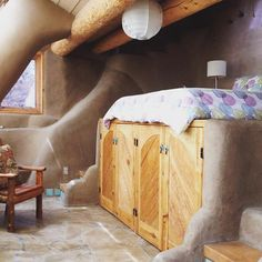 Built into the mountainside and plastered with mud.  #naturalmaterials #earthship #offgrid #sustainableliving