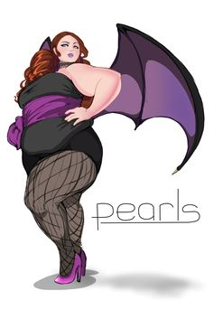 Plus Size Art: The Plus Size Superhero by Steel Gavel on The Curvy Fashionista