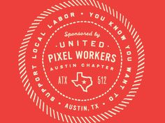 United Pixel Workers - Sleeve Detail  by Curtis Jinkins