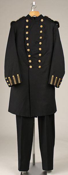 Late 19th century American Uniform at the Metropolitan Museum of Art, New York