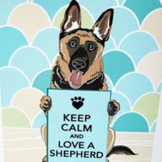 Loved each & every one of mine! Nothing greater than growing up with German Shepherds as your protectors!