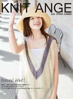 Журналы по вязанию и рукоделию.: Knit Ange Spring-Summer 2016