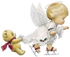 Boże Narodzenie Aniołów - Angel zdjecia - Angel gify - odczyty kart Anioł