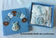 Caixa Maternidade Lembrancinha | Ateliê das Lembranças by Camila Moura | 20AFB9 - Elo7
