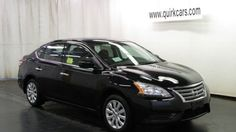 2015 Nissan Sentra S CVT for as little as $29 a month at Quirk Nissan!