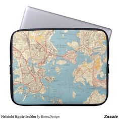 Choose from a variety of laptop sleeves or make your own! Shop now for custom laptop sleeves & more! Helsinki, Laptop Sleeves, Michael Kors Jet Set, Personalized Gifts, Bags, Design, Handbags, Customized Gifts