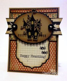 Happy Haunting! by B-gin-R - Cards and Paper Crafts at Splitcoaststampers