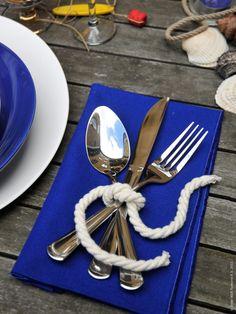 "cute idea "" tie the knot"" READ MORE AT => blog.fpmaine.com #wedding #maine"
