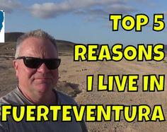 The top 5 reasons I live in Fuerteventura in the Canary Islands #fuerteventura