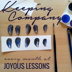 Joyous Lessons: An Invitation :: Keeping Company