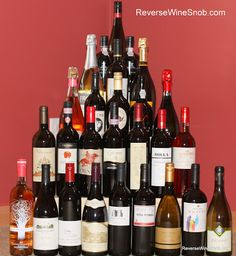 The Weekly Wrap-Up: Wine Bottle Christmas Tree, Great Wine Gifts and More http://www.reversewinesnob.com/2012/11/the-weekly-wrap-up-wine-bottle-Christmas-tree.html