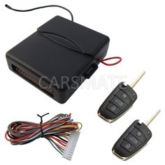 In Stock Car Keyless Entry System Remote Lock And Unlock Car Door Remote Trunk Release Many Different Blank Keys Are Selectable!