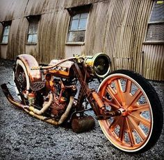 Photo Album: Parts, Pieces and Ideas Photo Album: Rat Rod Lifestyle Custom Motorcycles, Cars And Motorcycles, Chopper Bike, Love Car, Cannon, Rats, Antique Cars, Diy And Crafts, Rat Bikes