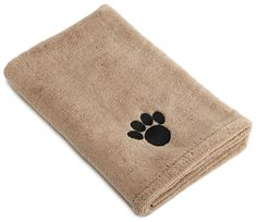 DII Bone Dry Microfiber Pet Bath Towel, Ultra-Absorbent and Machine Washable for Small, Medium, Large Dogs and Cats ** Visit the image link more details. (This is an affiliate link and I receive a commission for the sales) #Dogs
