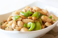 Cashew Chicken - very good.  I added some veggies and made some changes mentioned in the reviews.