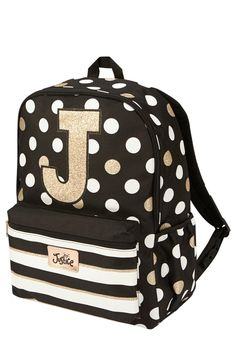 Justice is your one-stop-shop for on-trend styles in tween girls clothing & accessories. Shop our Initial Polka Dot Backpack. Cute Mini Backpacks, Kids Backpacks, School Backpacks, Dog Backpack, Jansport Backpack, Justice Backpacks, Bff, Polka Dot Backpack, Metallic Backpacks