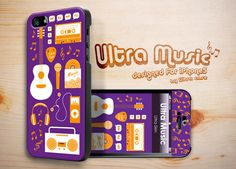 Ultra Music Case designed for Apple iPhone 5 #ultramusic #music #appleiphonecase #iphone5case #DesignerCase #UltraCase