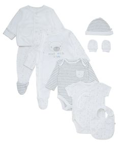 I'm shopping Mothercare Unisex 8 Piece Newborn Gift Set in the Mothercare iPhone app.