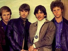 The Byrds - Gram Parsons line up